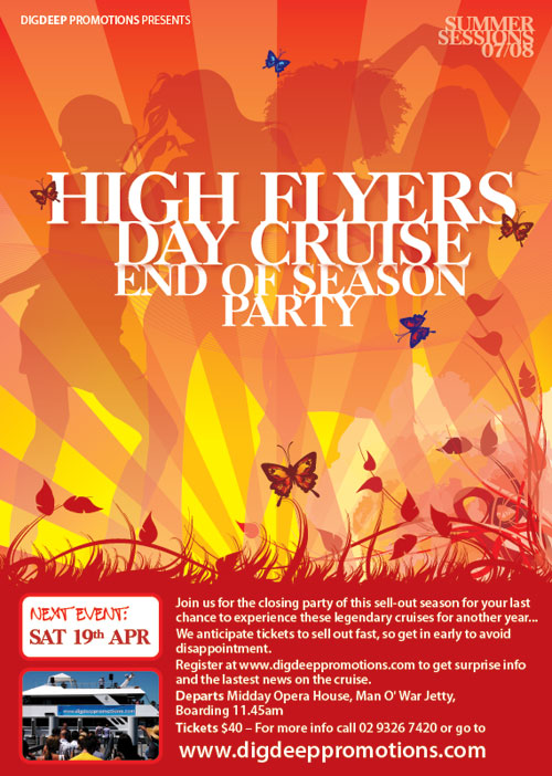 High Flyers Day Cruise - End of Season party